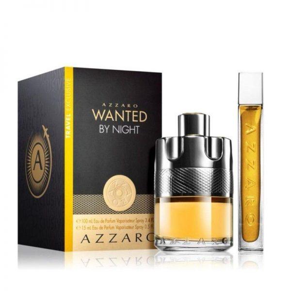 AZZARO – WANTED BY NIGHT Travel Set prix maroc